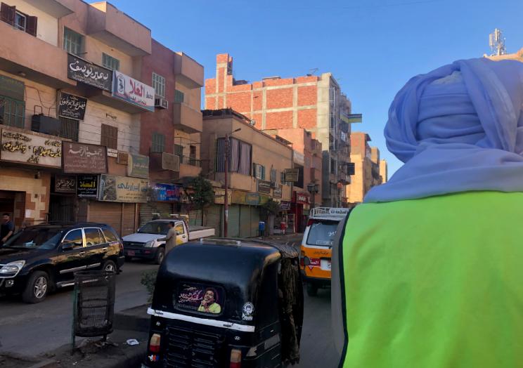 Trânsito no Egito