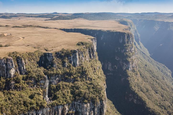 View of Canion Fortaleza - Serra Geral National Park - Cambara do Sul - Brazil