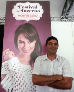 Paulo Paroli é chefe de Gestão e Planejamento de Monte sião