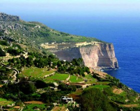 Dingli Cliffs - Brasileiros em Malta