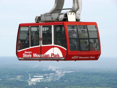 5193-a-red-cable-car-at-stone-mountain-in-georgia-pv