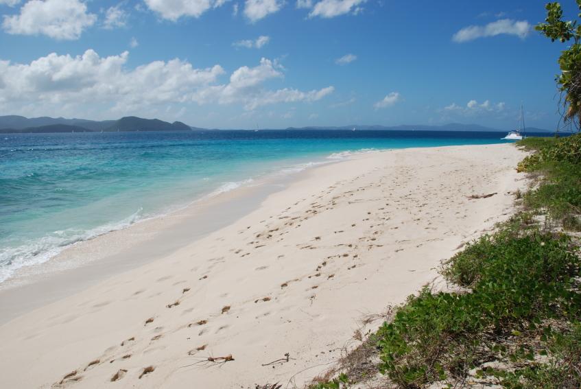 Sand Cay  Foto por &#169 Joel Blit via IStock