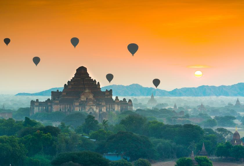 The Temples of Bagan(Pagan), Myanmar