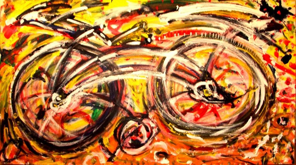 Black Bike 2011 90x160cm