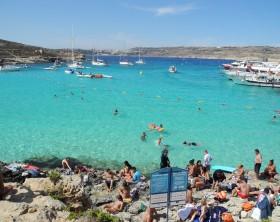 blue lagoon ilha de malta simon flickr