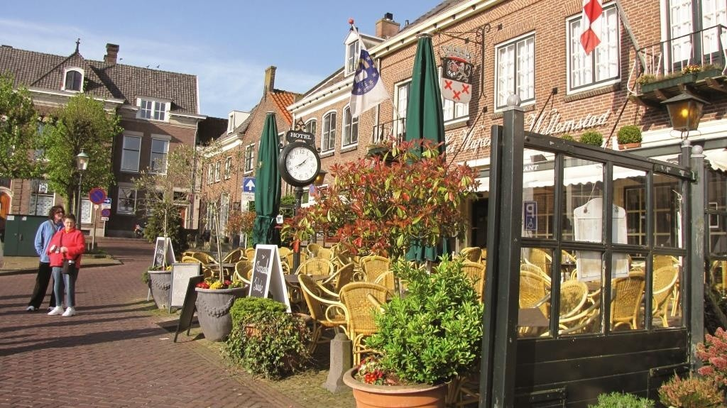 Colorful streets of Holland
