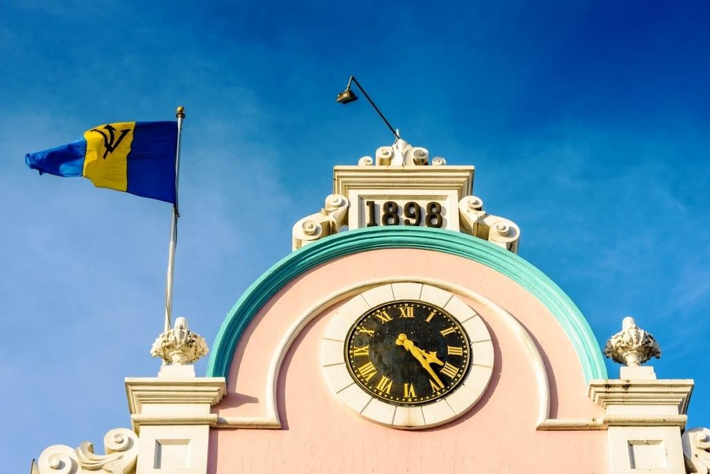 West Wing of the Parliament Building of Bridgetown _165116249