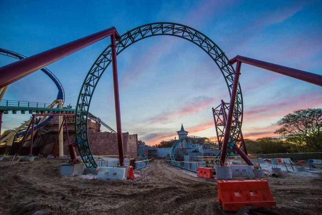 2016_Cobra's Curse at Busch Gardens_Coaster Loop