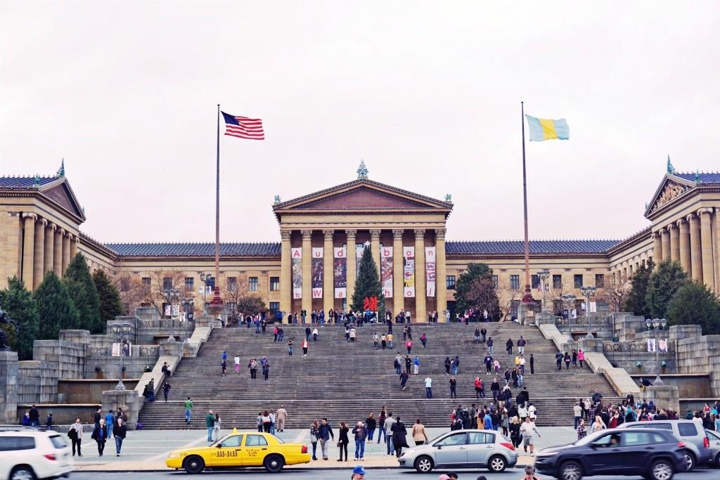 Filadelfia - Escadaria Rocky Balboa - The Rock Steps - Nina Negre