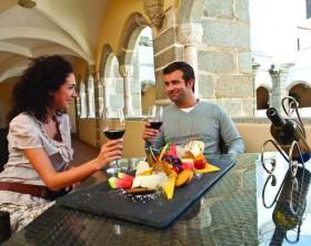 Experimentando vinhos do Alentejo