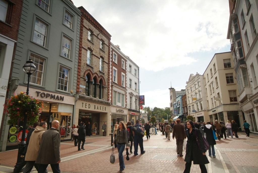 dublin - Grafton Street