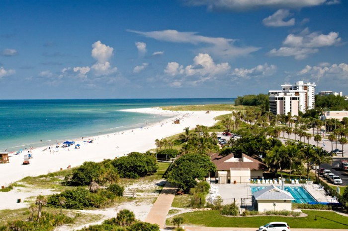 Summer in Lido Beach, Florida