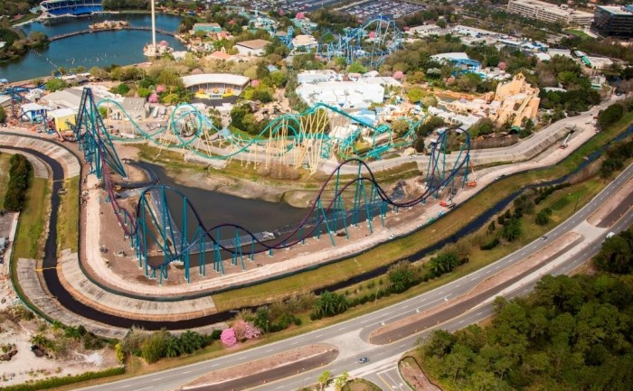 Mako Roller Coaster SeaWorld 2