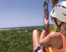 Zip lining - República Dominicana