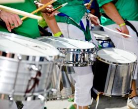 Scenes of Samba Festival in Coburg, Germany