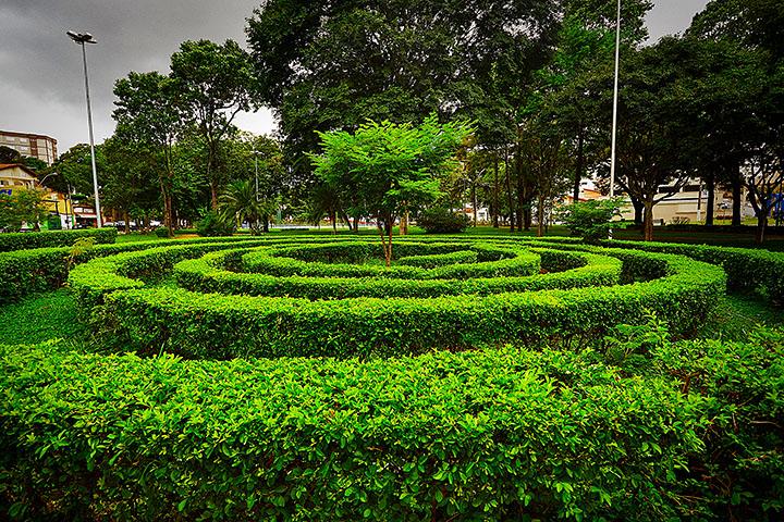 Praça dos Idosos - Serra Negra / SP - Foto: Aniello de Vita - Expressão Studio
