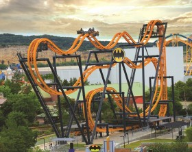 Six Flags - Batman