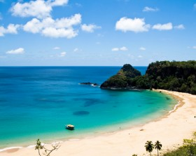 Sancho Bay Beach in Fernando de Noronha