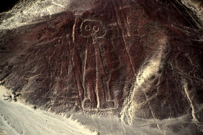 Nazca Lines Astronaut. Taken in Nazca, Peru.