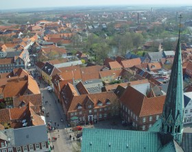Ribe, from above