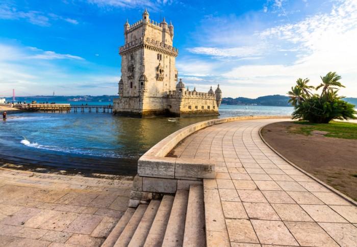 Beautiful Torre Of Belem,Lisbon,Portugal.