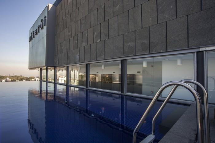 piscina do H Niterói hotel