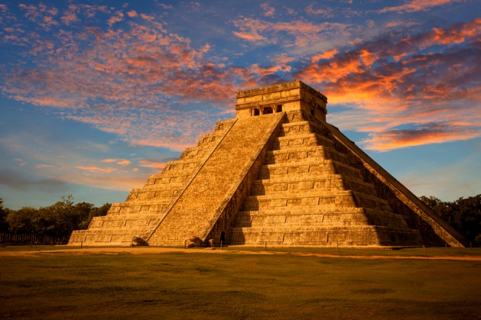 Most famous landmark of Yucatan and iconic symbol of Mexico. Kukulkan is the name of a Maya snake deity that also serves to designate historical persons