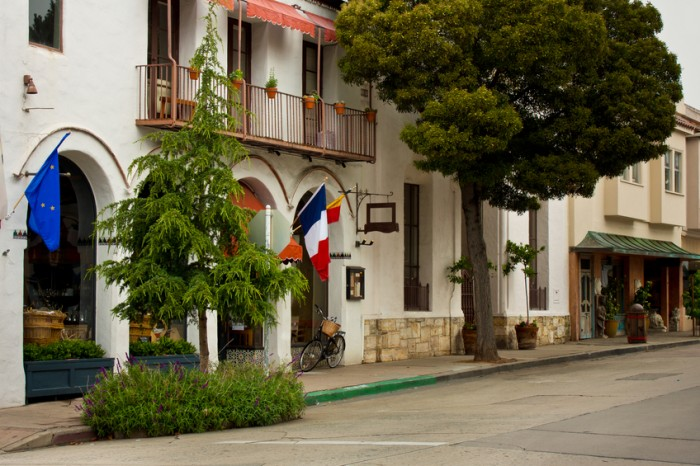 """A street scene in Carmel-by-the-Sea, California.Other Carmel Scenes:"""