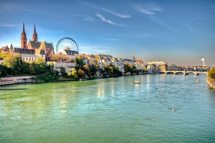 City of Basel in SwitzerlandCity of Basel in SwitzerlandCity of Basel in Switzerland