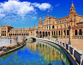 Beautiful Plaza De Espan,Sevilla.