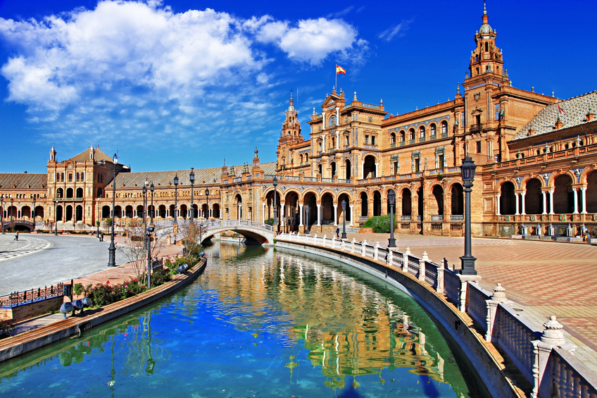 Beautiful Plaza De Espan,Sevilla.