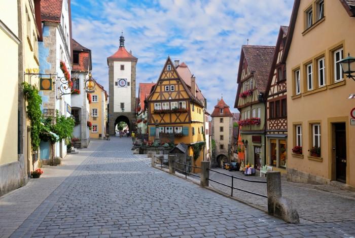 Rothenburg ob der Tauber, Germany, Bavaria