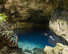 Vista de Cenote de Cuzamá