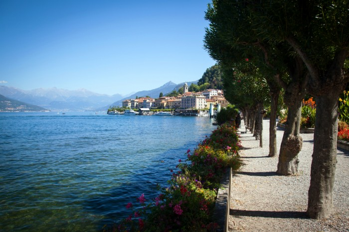 Lake Como Photography: View of Bellagio in a Summer Day