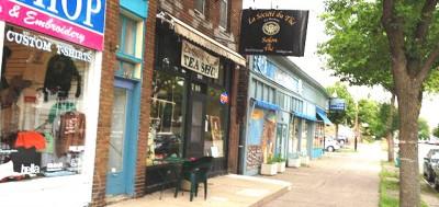 Um bairro residencial bem no coração do sul de Minneapolis, Lyndale concentra uma das maiores populações de artistas do país norte-americano