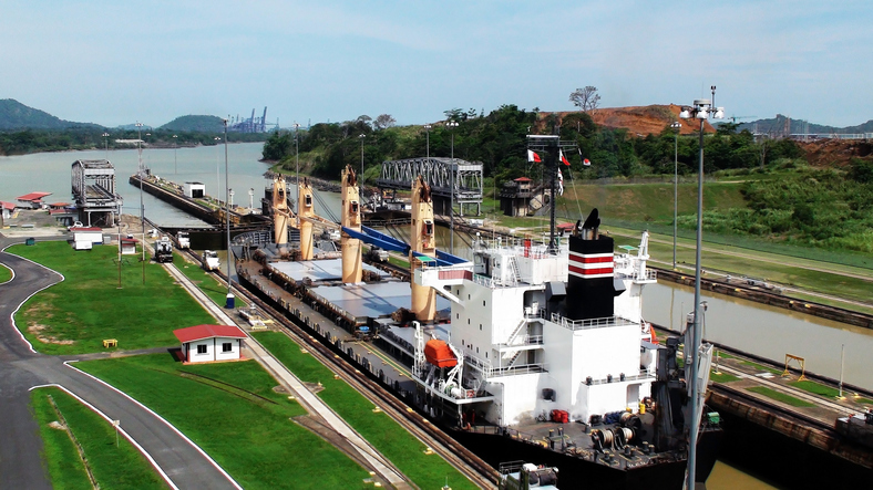 Panama Canal Connects The Atlantic Ocean Via The Caribbean Sea To The Pacific Ocean.The Canal Cuts Across The Isthmus Of Panama And Is A Key Conduit For International Maritime Trade.Panama Canal Is One Of Most Visited Place In Panama.