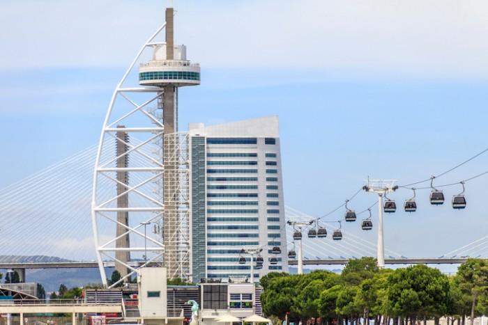 Vista Panorâmica do Parque das Nações em Lisboa
