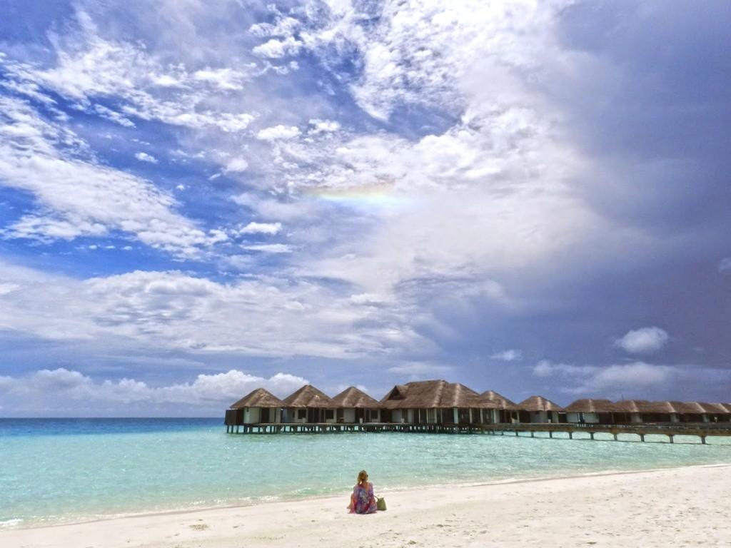 Bangalôs nas Maldivas | Créditos: Lala Rebelo