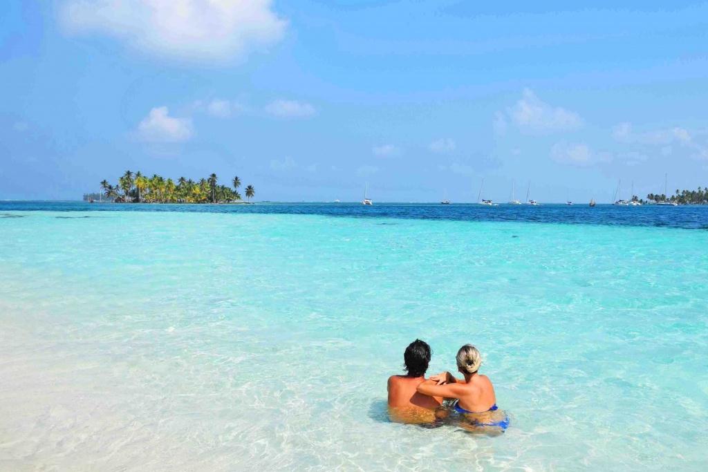 Isla Perro Grande, no Arquipélago de San Blas, Panamá | Créditos: Lala Rebelo