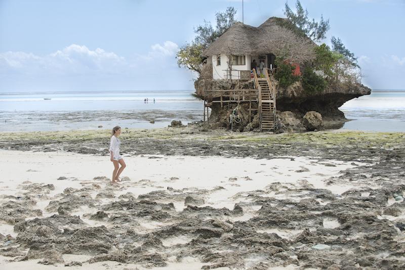 The Rock bar Zanzibar