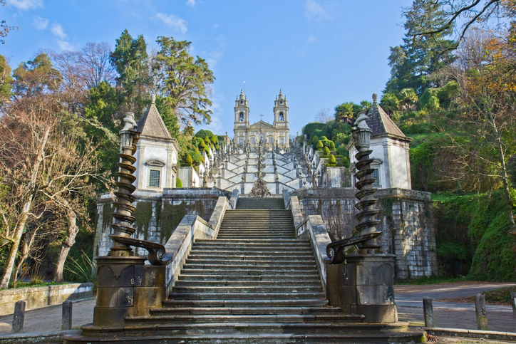 """sanctuary Bom Jesus do Monte, Braga, Portugal"""