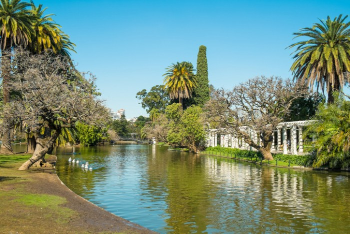 Downtown Buenos Aires parks in the Palermo neighborhood known as Palermo Woods