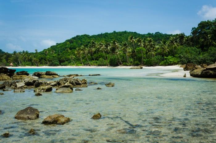 Tropical island, Phu Quoc, Vietnam.