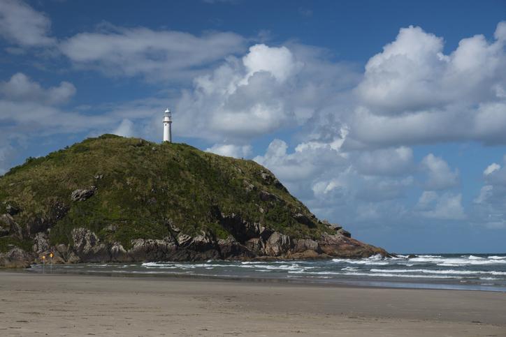 Farol das Conchas (Lighthouse of Shells), Ilha do Mel, Paranagu?, Brasil.