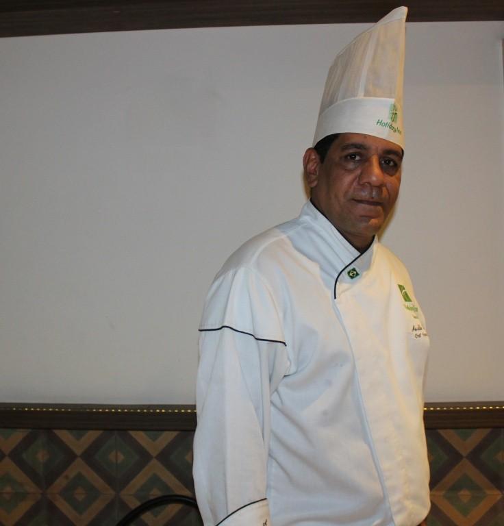 Audilá Sampaio, chef do Restaurante Drummond