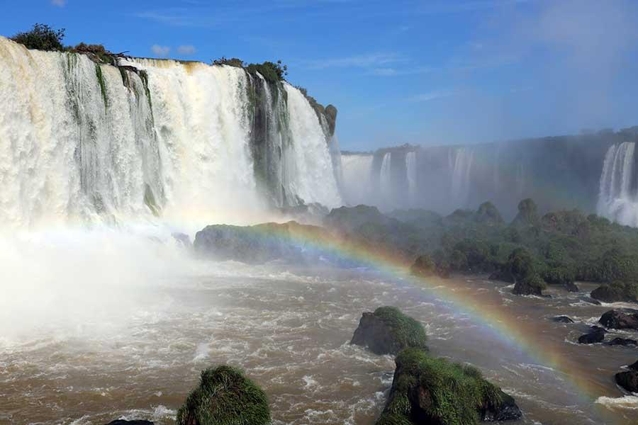 arco iris cataratas iguacu