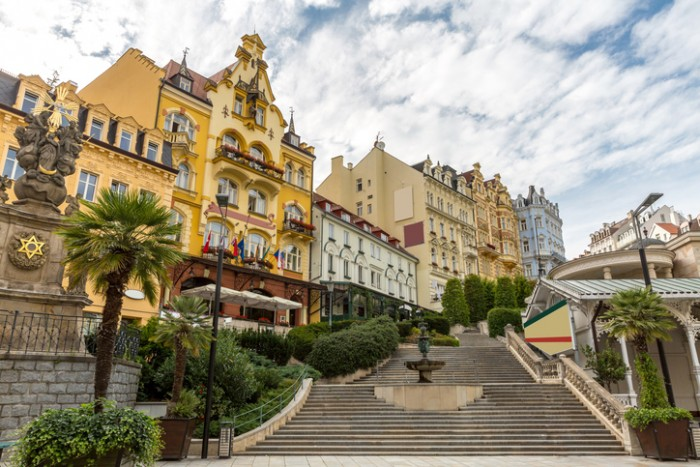 Czech Republic - Karlovy Vary downtown