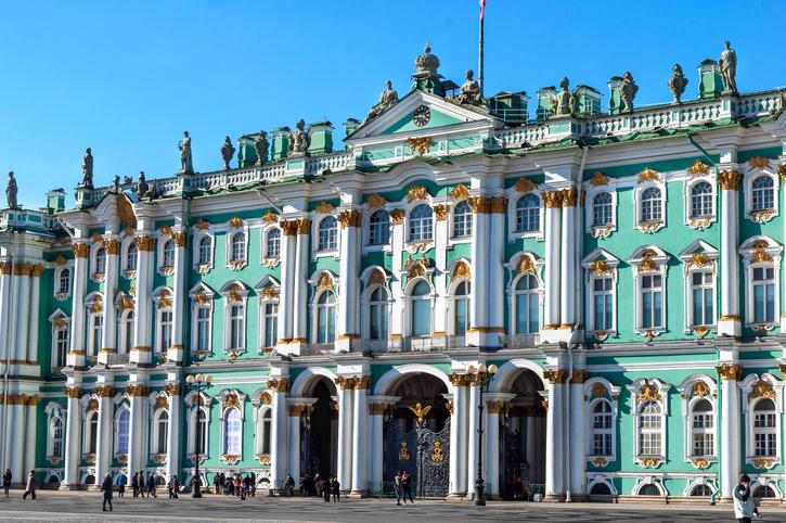 Hermitage, Russia, St Petersburg.