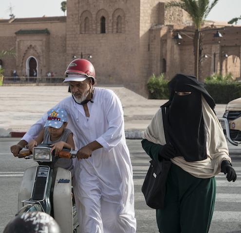 Marrakech no Marrocos
