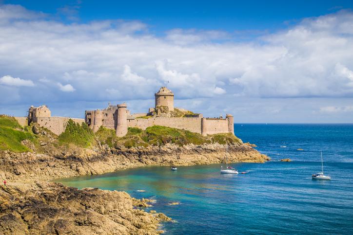 Fort-La-Latte castle, Bretagne, France
